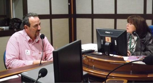 Presidente da CTB-RS, Guiomar Vidor, participa do Guaíba Revista com a jornalista Maria do Carmo