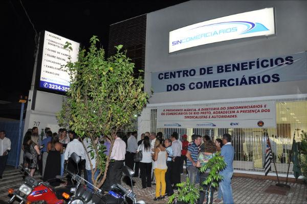 Sincomerciários de São José do Rio Preto inaugura Centro de Benefícios_