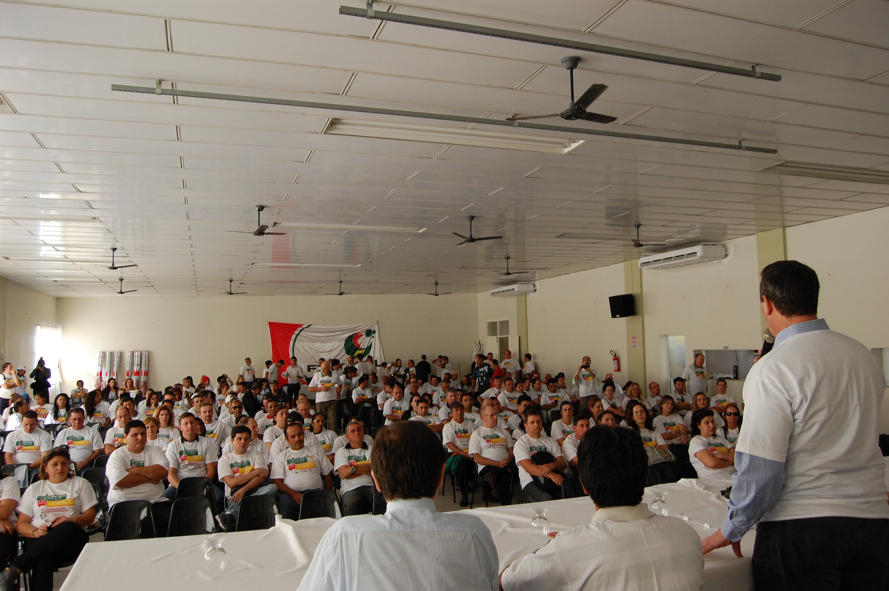 Lideranças sindicais de todas as regionais aderiram à campanha