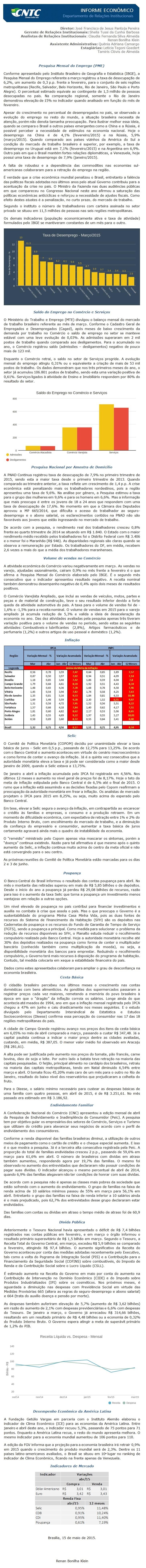 Informe Econômico 11