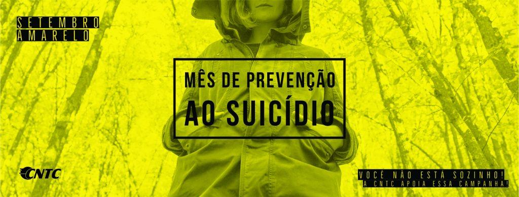 Camapanha Setembro Amarelo- Mês de prevenção ao suicidio