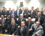 Dirigentes da CNTC na Comissão