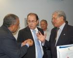 Paulo Paim, Luiz  Carlos Motta e Idelmar da Mota Lima