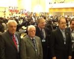 Dirigentes da CNTC na Conferência da OIT